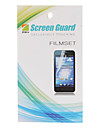 HD Protecteur d'écran avec chiffon de nettoyage pour Samsung Galaxy Gio S5660