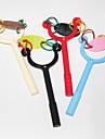 рогатки пластиковые синие чернила шариковой ручкой (случайные цвета)