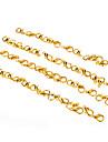 10 * 5mm métal doré homard fermoir bijoux Boucle * 50