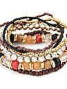 eruner®alloy cordon relié bracelet multi-lignes (couleurs assorties)