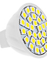 4 W 420 lm GU5.3(MR16) Faretti LED MR16 30 Perline LED SMD 5050 Bianco 12 V / CE
