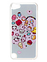 Heart Pattern Hard Case with Rhinestone for iPod Touch 5