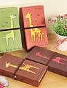 Прекрасные Жираф Pattern дневник (случайный цвет)