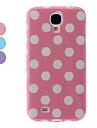 Волновой точки Pattern ТПУ защитный чехол для Samsung Galaxy i9500 S4 (разных цветов)