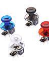 Substituicao Rocker Joystick Cap Mushroom Caps Shell 3D para Xbox 360 Wireless Controller (Cinza Chip)