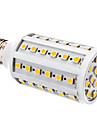 YWXLIGHT® 800lm E26 / E27 LED Corn Lights T 60 LED Beads SMD 5050 Warm White White 12V