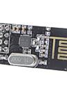 2.4 기가 헤르츠 고출력 안테나 무선 NRF24L01 + 트랜시버 모듈 - 블랙