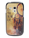 KEEP YOUR DREAMS ALIVE Pattern Hard Case for Samsung Galaxy S3 mini I8190