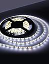 Waterproof 5M 18W 300x3528 SMD White Light LED Strip Lamp (12V, IP44)