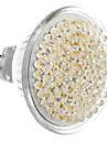 GU5.3 5W 81 LED 400-450LM 3000-3500K lumière blanche chaude Ampoule spot LED (12V)