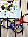 """Durable Rough Rope with Figure """"8"""" Style Chewing Toy for Dogs (Random Color)"""
