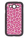 Розовый Leopard Печать Pattern Жесткий чехол для Samsung Galaxy I9082 дуэта