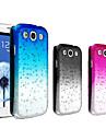 용 삼성 갤럭시 케이스 투명 케이스 뒷면 커버 케이스 컬러 그라데이션 PC Samsung S3