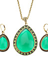 Z&x® ветер восстановления древних путей желе цвета каплевидные серьги с бриллиантами ожерелье костюмы