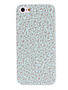 For iPhone 5 Case Embossed Case Back Cover Case Flower Hard PC iPhone SE/5s/5