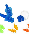 Nose Clip and Hearing Protection Earplugs for Swimming(Random Color)