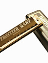 huang - (105) Blues harpe d'or de l'harmonica 10 holes/20 tons