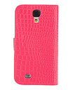 Pour Samsung Galaxy Coque Etuis coque Portefeuille Porte Carte Avec Support Clapet Relief Coque Integrale Coque Couleur Pleine Cuir PU