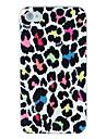 leopardo polonês maçante gravura em relevo de volta para o iPhone 5 / 5s