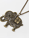 Jewelry Pendant Necklaces Daily Alloy Women Coppery Wedding Gifts