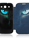 For Samsung Galaxy Case Flip / Pattern Case Full Body Case Animal PU Leather Samsung S3