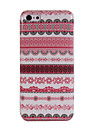 Rich Decorative Pattern Glossy Plastic Back Shell for iPhone 5C