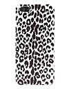 Glossy Leopard Print Pattern Hard Case para iPhone 5/5S