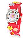 Mulheres Quartzo Quartzo Japonês Banda Desenhos Animados Vermelho Laranja Rosa marca