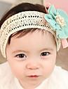 Doux Beige Tissu Bandeaux pour l'enfant (bleu, rose, rose-clair) (1 PC)