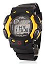 numérique multi-fonctionnel caoutchouc bande de montre-bracelet sportive pour les enfants (de couleurs assorties)