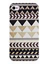 Joyland Cinza Preto Pattern Caso Voltar Repetindo ABS para iPhone 4/4S