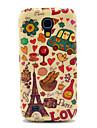 Eiffelturm & Brot Glossy-TPU für Samsung Galaxy S4 Mini I9190 I9195