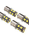 2Pcs 1156 13x5050SMD 60-80LM White Light LED Bulb for Car (12V)