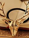Or Deer Head hairtie