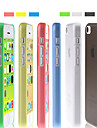 Solid Color Ultra-thin Grind Arenaceous Back Case for iPhone 5C(Assorted Color)