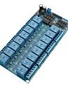 Module relais 12V 16-Channel Conseil W / Power LM2576 / Protection Optocoupleur
