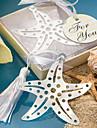 Stal nierdzewna Tassel Bookmark Starfish