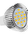 5W GU5.3(MR16) / E26/E27 Lâmpadas de Foco de LED 16 SMD 5630 420-450 lm Branco Quente AC 220-240 V