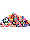 20pcs Other Decorations Fruit Fimo Polymer Nail Art Flower Cartoon Fashion Lovely High Quality Daily