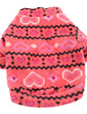 Dog Sweatshirt Dog Clothes Casual/Daily Keep Warm Heart Rose Costume For Pets