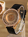 Women'S Water-Resistant Leather Band Quartz Analog Dress Watch