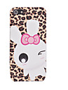 Joyland TPU Glitter Leopard Grain Rabbit Back Case for iPhone 5/5S