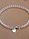 сладкие 19см женщин серебро медные цепи и ссылка браслет (серебро) (1 шт)