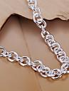 сладкий 19см женщин серебро медь браслет (серебро) (1 шт)