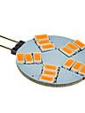 G4 Spot LED 15 LED SMD 5630 Blanc Chaud 180-320lm 2500-3500K DC 12V