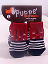 Socks & Boots for Dogs / Cats Red Shoes Winter S / M / L Cotton