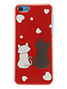 Sweet Cat Lovers Pattern Hard Case For iPhone 7 7 Plus 6s 6 Plus SE 5s 5c 5 4s 4