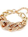 Shixin® Fashion Lock Twisted Chain & Link Bracelet(Random Color)