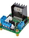 L298N 두 배 고성능 듀얼 DC 모터 스테퍼 모터 드라이브 모듈 스마트 자동차