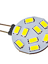 SENCART 120-150lm G4 LED 스팟 조명 9 LED 비즈 SMD 5730 차가운 화이트